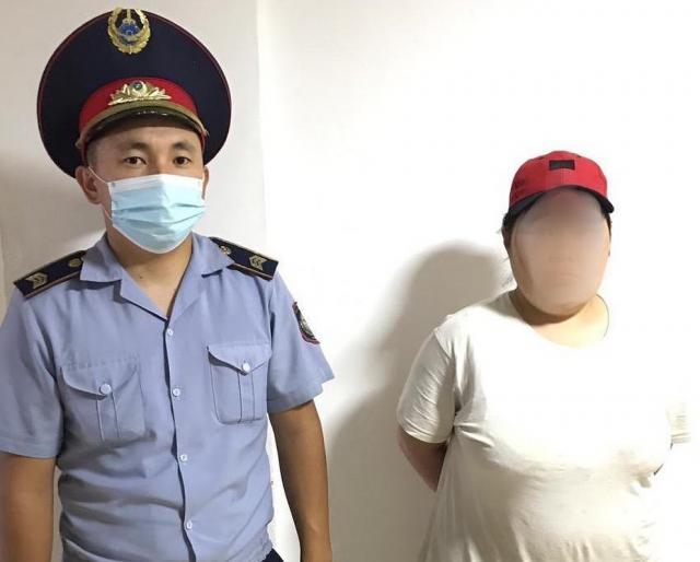 33-летнюю грабительницу задержали в Алматинской области